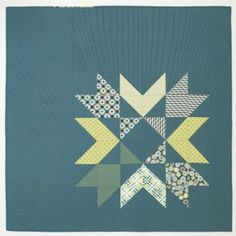 What a beautiful star quilt pattern! We love this free quilt block design.