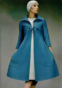 Pierre Cardin coat. 1960s