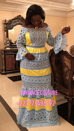 nous - Brenda O. African Bridesmaid Dresses, African Maxi Dresses, Latest African Fashion Dresses, African Print Fashion, African Attire, African Wear, African Women, African Inspired Fashion, Lace Dress Styles