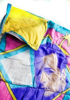 I NEED a Luke Perry sleeping bag!!!!    Vintage Beverly Hills 90210 Sleeping Bag  Rare Early by jackdin, $53.50