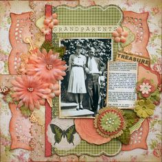 Grandparents**Flying Sept KOM - Vintage Harmony** - Scrapbook.com