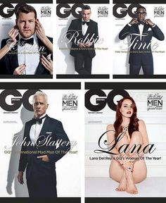 GQ's people of the year. Spot the odd one out. Ask what the hell.