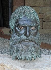 Seuthes III was a king of the Odrysian kingdom of Thrace from ca. 330 BC to ca. 300 BC, at first tributary to Alexander the Great of Macedonia.  Thrace had been largely subject to Macedonia since the campaigns of Alexander's father Philip II in 347-346, followed by his conquest of southern Thrace in 341 BC. After Philip's death in 336 BC, the Thracian tribes revolted against Alexander, who waged a campaign against and defeated the Getai and King Syrmus of the Triballi.