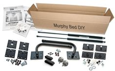 Murphy Bed DIY Hardware Kit - Complete with All Parts & Hardware