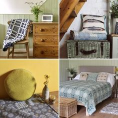 How to create a Welsh style interior Welsh Cottage, Barn Bedrooms, Welsh Blanket, Traditional Fireplace, Tapestry Design, Cottage Interiors, Blue Rooms, George Hill