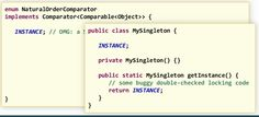 right way to write singleton in java