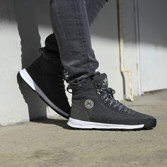 Urban hiking felt sneaker boots Sneaker Boots, Men's Shoes, Hiking, Footwear, Felt, Urban, Sneakers, Fashion, Walks