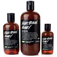 fair trade honey | lush ... super moisturizing for those dry winter months!