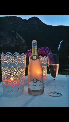 Wine summer night