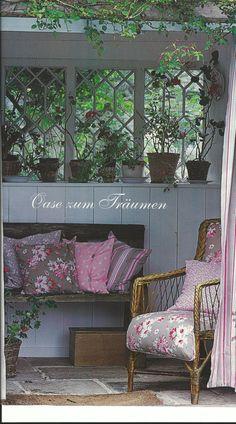 Beim Gartenbett, könnte es noch Verschönerungen vertragen.
