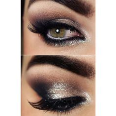 14 Makeup Looks that'll Make Your Green Eyes Pop like You Never... ❤ liked on Polyvore featuring makeup