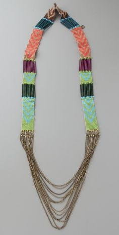 loom bead necklace