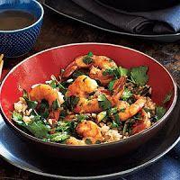Smokin' Oven: Cilantro Shrimp