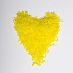 Dandelion Yellow Water Soluble Biodegradable Natural Wedding Confetti www.adamapple.co.uk