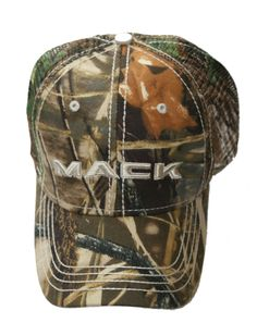Mack Truck Merchandise - Mack Truck Hats - Mack Trucks Realtree Max-4 Camouflage Snapback Cap - Mack Trucks Realtree Max-4 Camouflage Snapback Caps