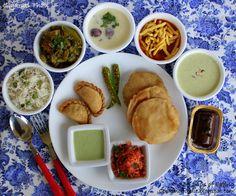365 days of Eating: Gujarati Thali with Undhiyu