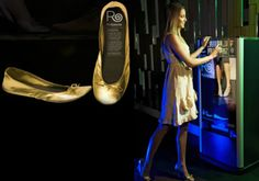 What are the Most Unusual Vending Machines? - After Party Shoes 4of16 Tired, aching feet after a night of partying in heels? That's no problem with the RollaSole vending machine, situated in several nightclubs and casinos. It dispenses comfy ballet flats, which come with a bag to pop your other shoes into. !!!!!