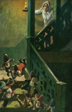 Oskar Herrfurth | Die Heinzelmännchen von Köln (The Gnomes from Cologne) | August Kopisch