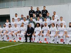 Real Madrid foto elenco Zidane