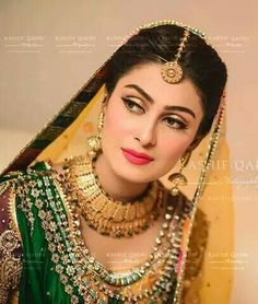 Ayeza khan's mehndi photo shoot