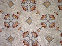 Mosaic pattern, Mount Nebo, Mount Nebo, Jordan