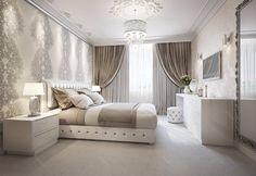 #Schlafzimmer Prächtige Schlafzimmer Inspiration in den Farben Silber #Prächtige #Schlafzimmer #Inspiration #in #den #Farben #Silber