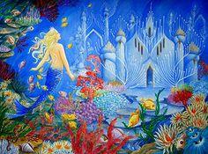 """The little mermaid"" / Andersen Fairy Tales Publisher- Paulus Editora/Brazil www.veruschkaguerra.com"