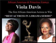 Viola Davis  African-American & Primetime Emmys #EmmyAwards