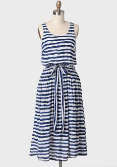 Bayou Wishes Striped Dress By Lavand at #Ruche @Ruche - need this for the beach!!!