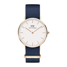 Classic Bayswater 36 Rose Gold Cheap Watches, Watches For Men, Women's Watches, Nice Watches, Watches Online, Bracelet Nato, Or Rose, Rose Gold, Chic
