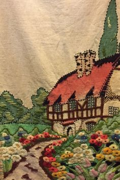 English cottage textile.