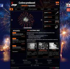 Oto stronę www.Jorge.com.pl, nad którą prace trwały dobrych kilka miesięcy Choć z pozoru tego nie widać, ta strona to prawdziwy kombajn danych - pod tą witryną kryją się 3 wersje językowe i w sumie wiele tysięcy produktów.