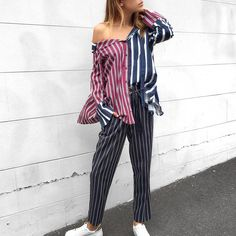 BRB - Just having a stripe moment ✔️✔️✔️ Shop new arrivals via the link in our bio @ashgrats