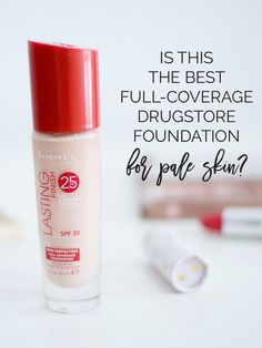 Is this the best full-coverage drugstore foundation for pale skin?