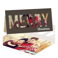 Photo Christmas Cards  -- Peekaboo Christmas | Pear Tree Greetings
