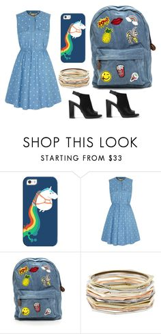 """Untitled #67"" by daniellekoebert ❤ liked on Polyvore featuring Casetify, Yumi, Kendra Scott and Michael Kors"