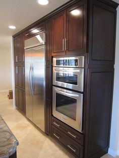Minimalist Kraftmaid Cabinets with Many Functions: Incredible Kraftmaid Cabinets In Mediterranean Kitchen Which Are Made Of Wood With Wood V...