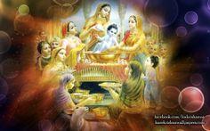 To view Krishna wallpapers in difference sizes visit - http://harekrishnawallpapers.com/krishna-artist-wallpaper-035/