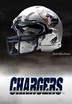 Charles Sollers NFL Concept Helmets                                                                                                                                                      Más