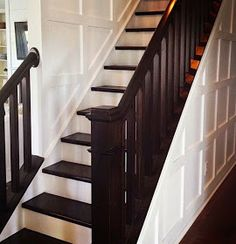 .: Carpet to wood staircase