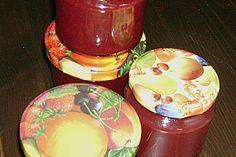 Weihnachtliche Glüh - Kirsch - Marmelade