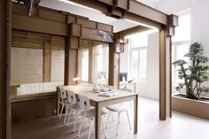 Nothing Cardboard Office Interior by Alrik Koudenburg and Joost van Bleiswijk | HomeDSGN, a daily source for inspiration and fresh ideas on interior design and home decoration.