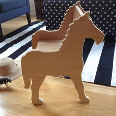 CHILD'S PONY CHAIR- your choice of color by Paloma's Nest | Paloma's Nest: