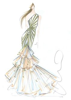 Here's the Scoop on the Stunning Gown Christian Siriano Will Send Down the 2016 Oscars Red Carpet from InStyle.com