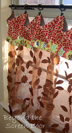 whimsical curtain tutorial
