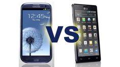 El Samsung Galaxy SIII y el LG Optimus 4X HD enfrentados [Video]