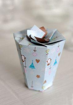 Printable Xmas Gift Box