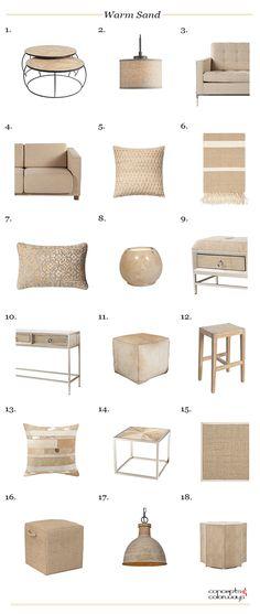 pantone warm sand, beige decor, tan decor, tan couch, tan pillows, tan pouf, tan stool, tan coffee table, tan rug, sisal rug, jute rug, tan throw, beige rug, beige sofa, beige stool, beige pouf, beige pillow, beige coffee table
