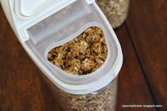 Maple & Brown Sugar Granola - tastes just like those instant oatmeal packets, but as a granola.