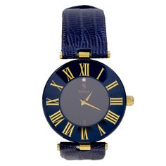$3200.  H STERN Faceted Saphhire Ladies Watch | From a unique collection of vintage wrist watches at http://www.1stdibs.com/jewelry/watches/wrist-watches/